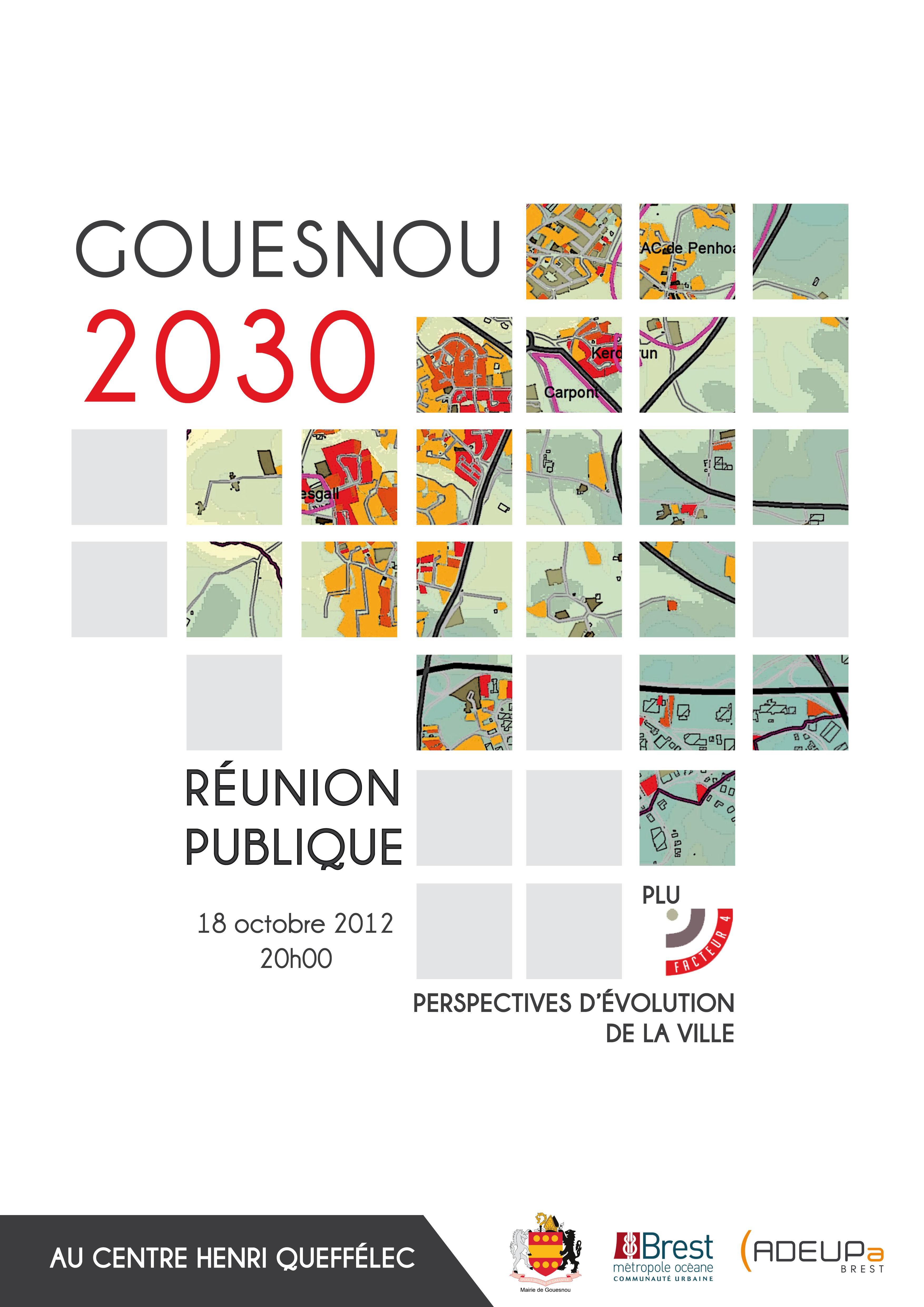 Gouesnou à l'horizon 2030 Perspectives d'évolution