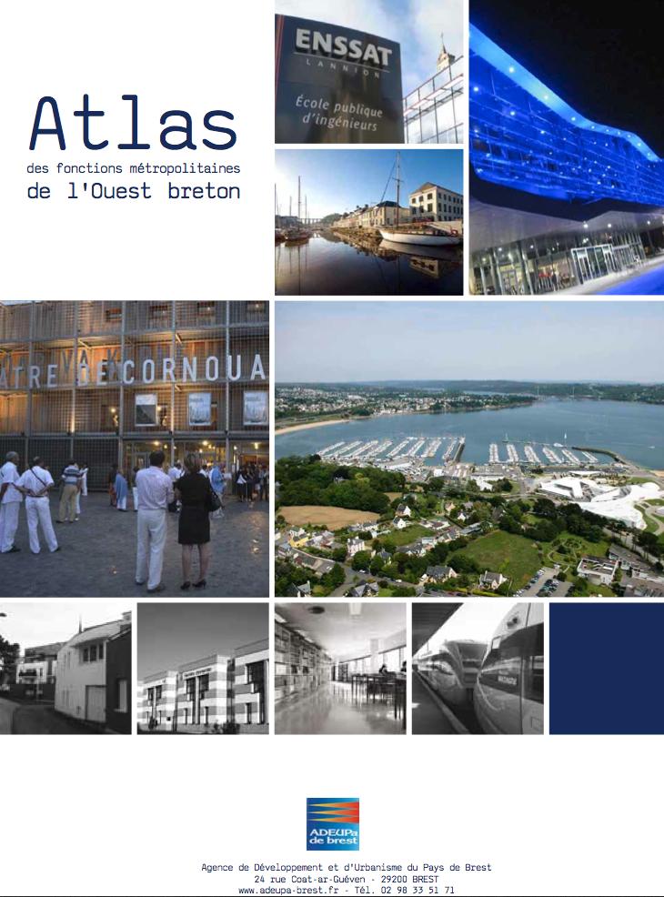 Atlas des fonctions métropolitaines de l'Ouest breton