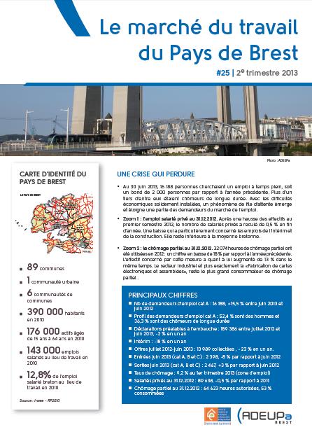 Le marché du travail du Pays de Brest N°25