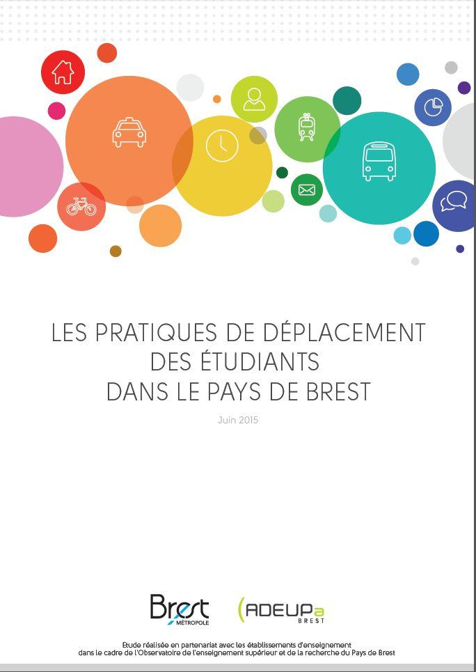 Les pratiques de déplacement des étudiants dans le pays de Brest