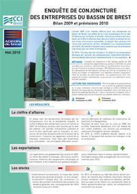 Conjoncture économique dans le bassin de Brest : bilan 2009 et perspectives 2010