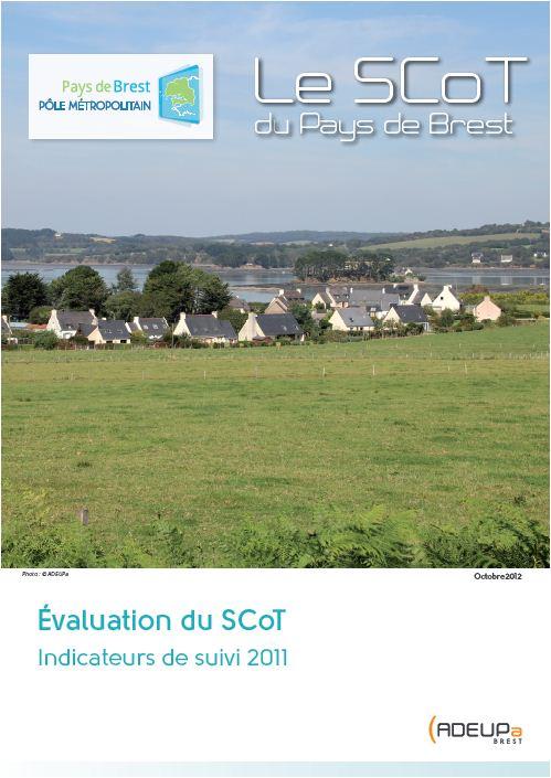 Evaluation du SCoT du pays de Brest  - indicateurs de suivi 2011