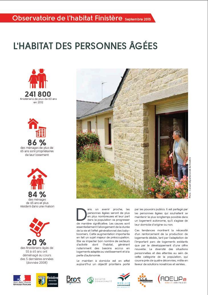 Focale 2015 : l'habitat des personnes âgées