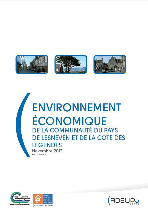 Environnement économique de la communauté du pays de Lesneven - Côte des légendes