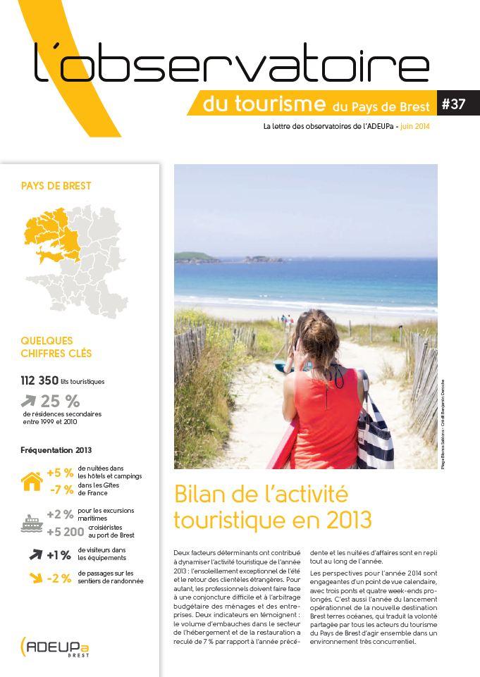 Observatoire du tourisme N°37
