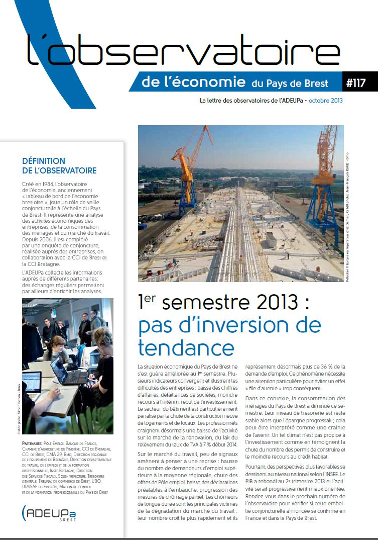 Observatoire de l'économie du Pays de Brest N°117