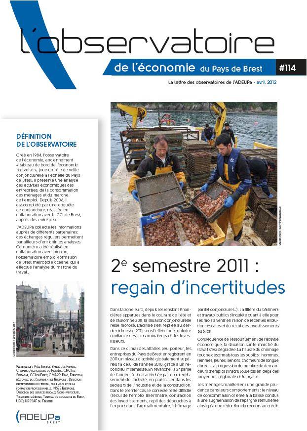 Observatoire de l'économie du Pays de Brest N°114