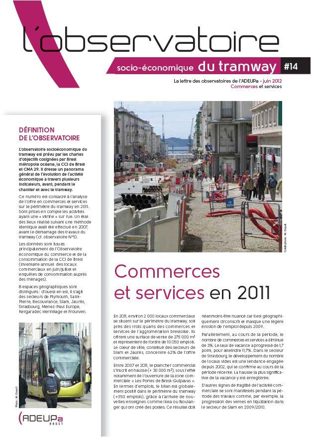 Observatoire socio-économique du tramway n°14