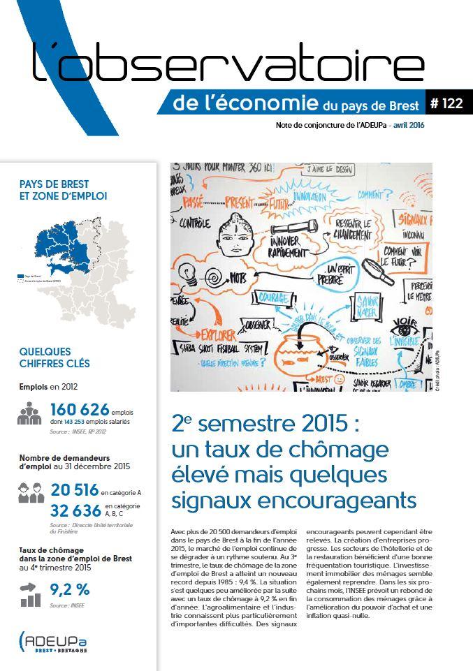 Observatoire de l'économie du pays de Brest N°122