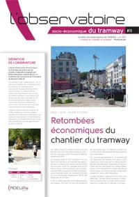 Observatoire socio-économique du tramway N°11 (Juin 2011)