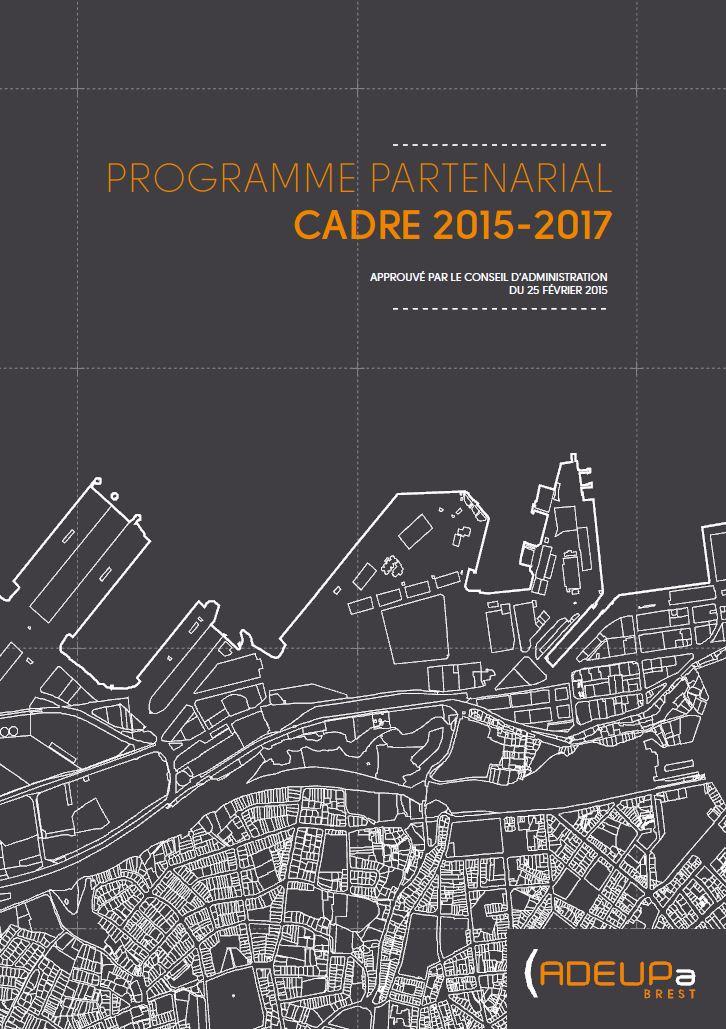 Programme partenarial cadre 2015-2017 de l'ADEUPa