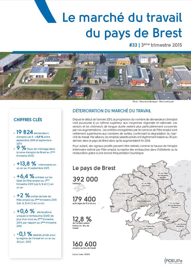 Le marché du travail du pays de Brest N°33