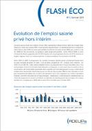 Évolution de l'emploi salarié privé hors intérim (Janvier 2011)